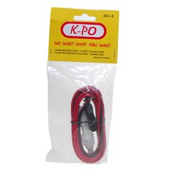 K-PO DC CORD 3 POL MIDLAND/PRES