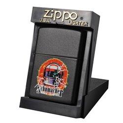 ZIPPO 51774 ZWART FULL COLOUR HELM SCHUMACHER