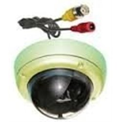 Vandaal bestendige kleuren dome bewakingscamera