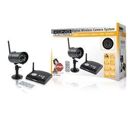 Digitale 2.4 GHz draadloze camerasysteem