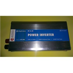 Skytronic Inverter 12V DC naar 230V AC 1000W